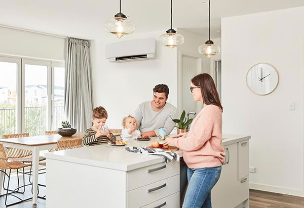 Daikin heat pump air conditioning systems